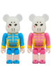 BE@RBRICK 仮面女子 ブルー&ピンク 2PACK