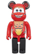 BE@RBRICK LIGHTNING McQUEEN 400%