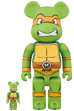 BE@RBRICK MICHELANGELO 100% & 400%