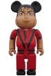 BE@RBRICK Michael Jackson Red Jacket 1000%