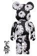 BE@RBRICK Mishka monochromatic 100% & 400%