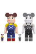 MILKY THE CONVENI PEKO BE@RBRICK 100% & 400%<br>