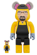 BE@RBRICK Breaking Bad Walter White(Chemical Protective Clothing Ver.)100% & 400%