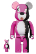 BE@RBRICK Breaking Bad Pink Bear 100% & 400%