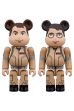 BE@RBRICK GHOSTBUSTERS 100% 2PC SET Raymond Stantz/Egon Spengler