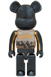 MY FIRST BE@RBRICK INNERSECT BLACK & GOLD Ver.1000%