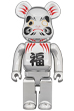 BE@RBRICK 達磨 銀メッキ 400%