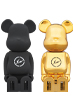 cleverin(R) BE@RBRICK THE CONVENI BLACK/GOLD