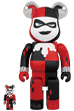 BE@RBRICK HARLEY QUINN (BATMAN The Animated Series Ver.) 100% & 400%