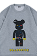 MLE PAC-MAN シリーズ BE@RBRICK CREW NECK SWEAT