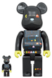 BE@RBRICK PAC-MAN 100% & 400%