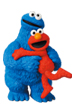 UDF SESAME STREET シリーズ2 ELMO & COOKIE MONSTER