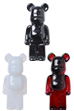 Baccarat BE@RBRICK ピンブローチ