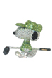 UDF CRYSTAL DECORATE SNOOPY GOLFER SNOOPY