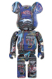 BE@RBRICK JEAN-MICHEL BASQUIAT #7 1000%