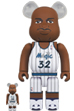 BE@RBRICK Shaquille O'Neal (Orlando Magic)100% & 400%