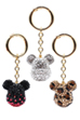 BE@RBRICK CRYSTAL DECORATE CHARM(CRYSTAL/BLACK/LEO)