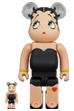 BE@RBRICK Betty Boop(TM) BLACK Ver. 100% & 400%