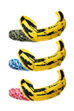 MLE × BAPE(R) ANDY WARHOL ABC BANANA CUSHION M(GREEN CAMO/BLUE CAMO/PINK CAMO)
