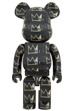 BE@RBRICK JEAN-MICHEL BASQUIAT #8 1000%