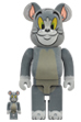 BE@RBRICK TOM フロッキー Ver. 100% & 400%(TOM AND JERRY)