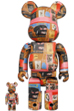 BE@RBRICK Andy Warhol × JEAN-MICHEL BASQUIAT #2 100% & 400%