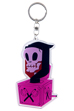 "MLE ASAMI MATSUMURA シリーズ ACRYLIC KEY CHAIN ""Jack In The Box Grim"""